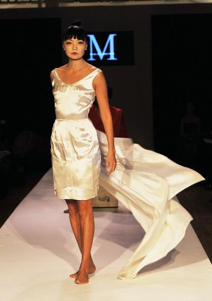 Американський дизайнер Malan Breton на Mercedes-Benz Fashion Week. Фото: Slaven Vlasic/Getty Images