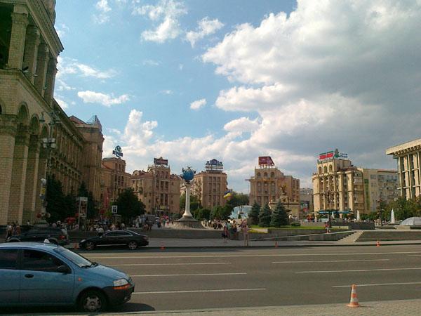 Улица Крещатик. Фото: epochtimes.com.ua