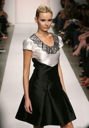 Коллекция сезона осень 2008 от Фары Ангсаны на Mercedes-Benz Fashion Week , Smashbox Studios, 13 марта 2008, Калифорния. (Фото: Фрезер Харисон /Getty Images)
