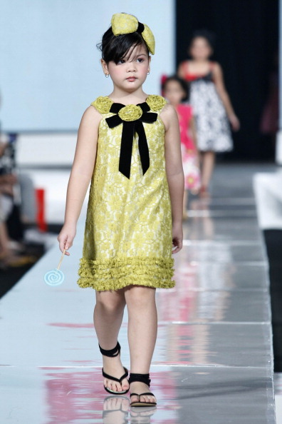 Дитяча колекція від Sebastian Gunawan у Джакарті. Фото Фото: Ulet Ifansasti/getty Images for Jakarta Fashion Week