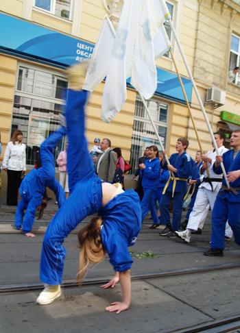 Святкова хода на честь дня міста. Фото: Юлія Ламаалєм/The Epoch Times