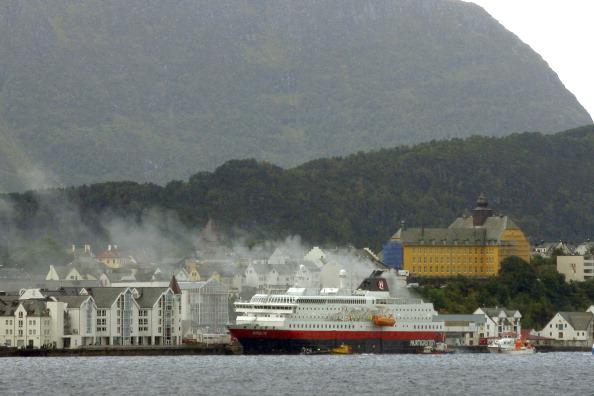 Пожар на норвежском круизном судне Nordlys