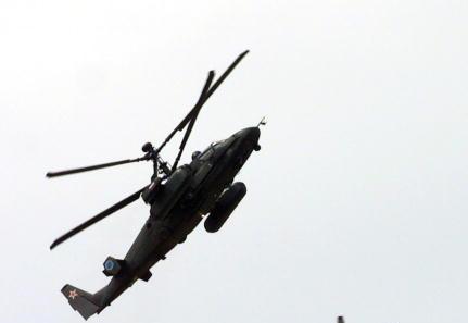 Військовий вертоліт KA-52 Alligator