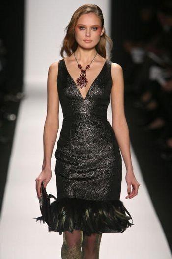 Mercedez-Benz Fashion Week. Колекція жіночого одягу осінь/зима 2008 від дизайнерів Марко Бедглі (Mark Badgley) і Джеймса Мішка (James Mіschka). Фото: Frazer Harrіson/Getty Іmages