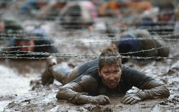 Tough Guy Challenge, лютий, 2009 р. Фото: Laurence Griffiths / Getty Images