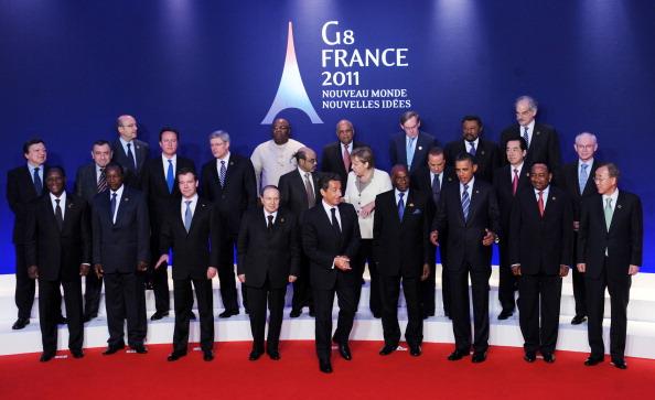 Мировые лидеры на саммите G8 в Довиле. День 2-й. Фото: Stefan Rousseau – Pool/Getty Images