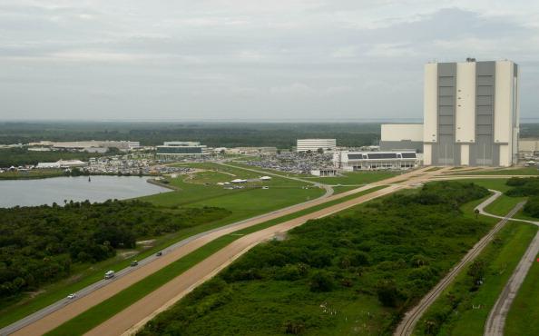 Астронавти відправляються на стартовий майданчик 39А. Фото: Bill Ingalls/NASA via Getty Images