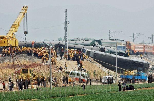 Железнодорожная катастрофа в Китае стала плохим предзнаменованием для Олимпиады. Фото: AFP