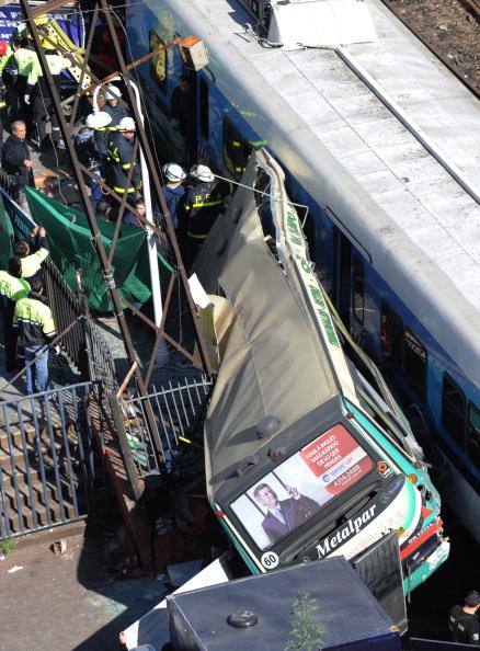 Daniel GВ Буэнос-Айресе столкнулись два поезда и автобус. Фото: Daniel Garcia/Getty Imagesarcia/Getty Images