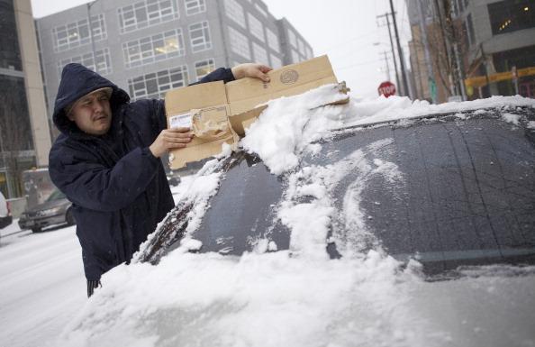 Снежная буря в США: есть погибшие