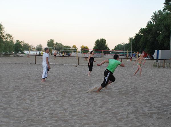 Вечірній пляж. Фото: Олена Колодіна/The Epoch Times Україна