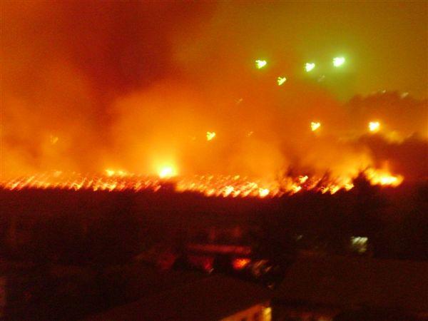 Пожежа на текстильному заводі в м. Шицзячжуан трапилася за день до прибуття Естафети олімпійського вогню. Фото з epochtimes.com