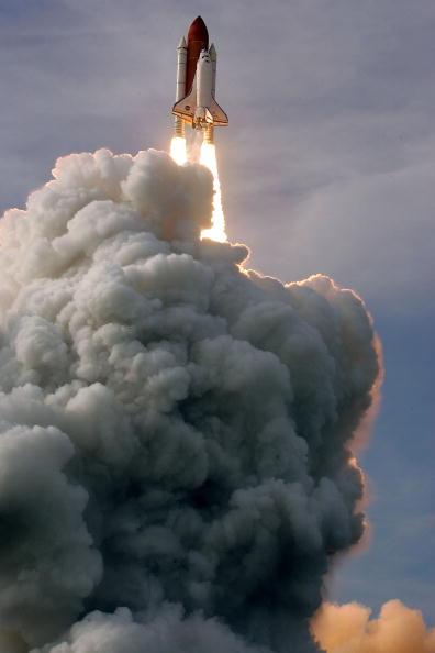 Запуск космического шаттла 'Эндевор'. Мыс Канаверал, Филаделфия, 15 июля 2009г. Фото: Chip Somodevilla/Getty Images