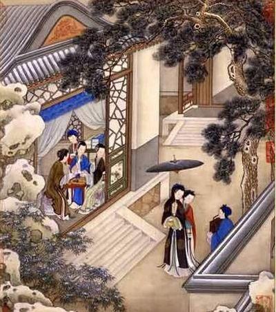 Сюжети з життя дівчат стародавнього Китаю. Фото з secretchina.com