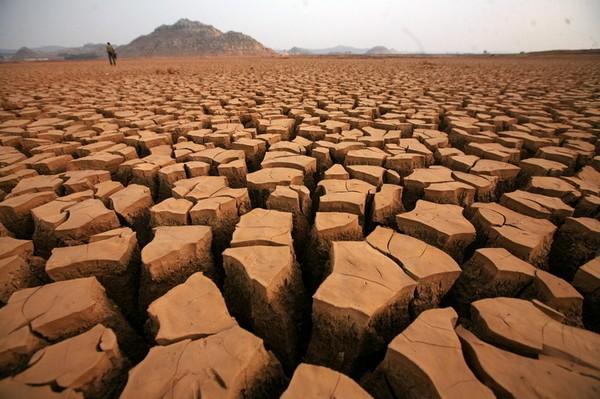 Постраждалі від засухи райони південного заходу Китаю. березень 2010 рік. Фото з epochtimes.com