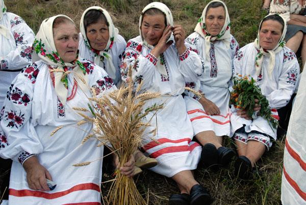 На праздник приехали фольклорные коллективы из разных областей Украины. Фото: Владимир Бородин/The Epoch Times