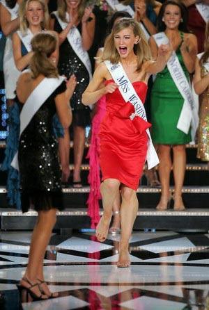 Мисс Вашингтон. Kristen Eddings вошла в десятку сильнейших и красивейших участниц. Фото: Ethan Miller/Getty Images