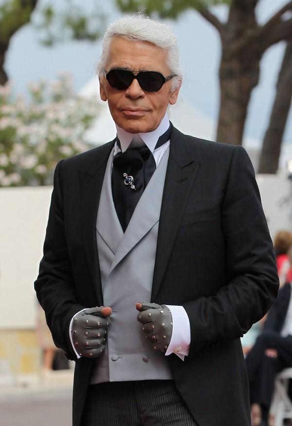 Карл Лагерфельд на свадьбе князя Монако ІІ и Шарлин Уиттсток. Фото: Sean Gallup/Getty Images