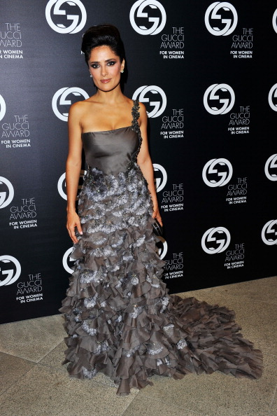 Салма Хайек (Salma Hayek). Фото: Gareth Cattermole/Getty Images for Gucci