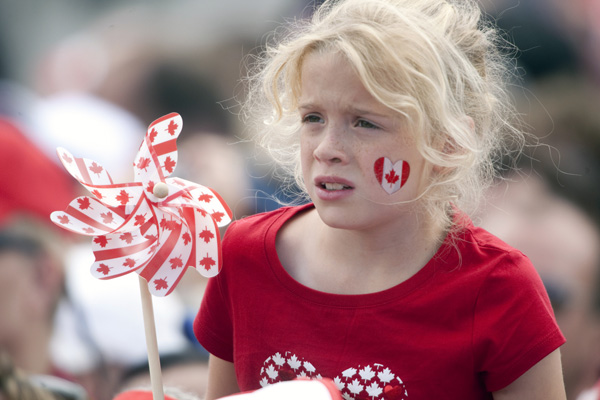 Сьоме місце в рейтингу найщасливіших країн світу - Канада. Фото: GEOFF ROBINS/AFP/Getty Images