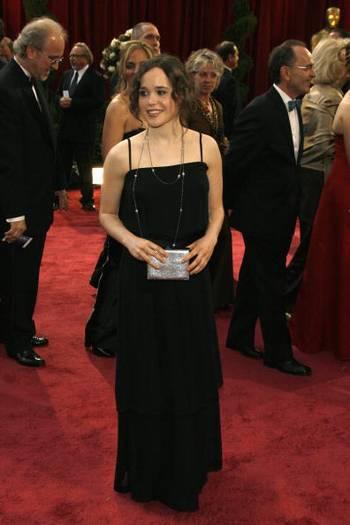 Актриса Эллен Пейдж (Ellen Page) посетила церемонию вручения Премии 'Оскар' в Голливуде Фото: Vince Bucci/Getty Images