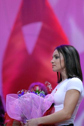 Лілія Подкопаєва - організатор благодійного концерту «SOSстраданіє». Фото: Володимир Бородін/Велика Епоха