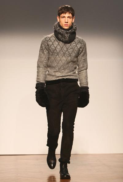 Pringle Of Scotland в Мілані (18.01.2010) на виставці «Чоловічий одяг – осінь/зима 2010». Фото: Vittorio Zunino Celotto/ Getty Images