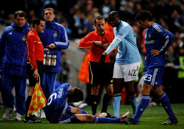 'Манчестер Сити' – 'Динамо' Фото: Laurence Griffiths /Getty Images Sport