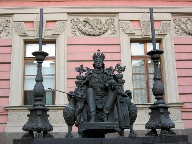 Памятник Павлу I, скульптор В.Э. Горевой, архитектор В.П.Наливайко. Фото: Алла Лавриненко/The Epoch Times Украина