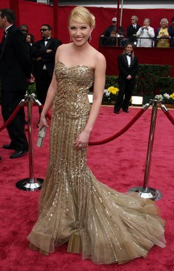 Актриса Адриенна Франц ( Adrienne Frantz) посетила церемонию вручения Премии 'Оскар' в Голливуде Фото: Frazer Harrison/Getty Images