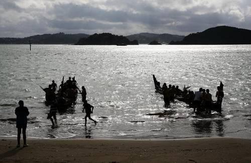 Новая Зеландия готовится к Дню Уайтанги. Фото: Hannah Johnston/Getty Images