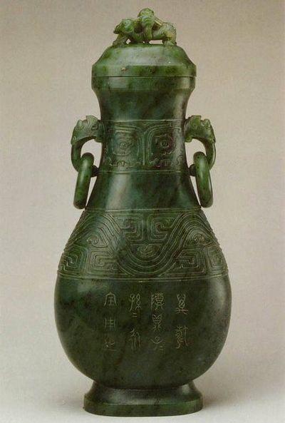 Юйчі - вироби з нефриту. Фото із secretchina.com