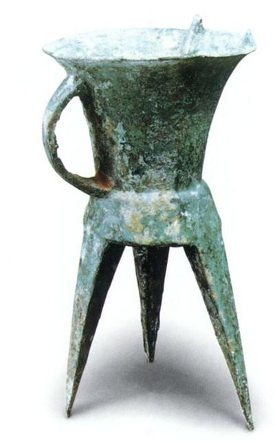 Мідний кубок. Висота 30,5 см. Виготовлений приблизно 3600 років тому. Фото з aboluowang.com