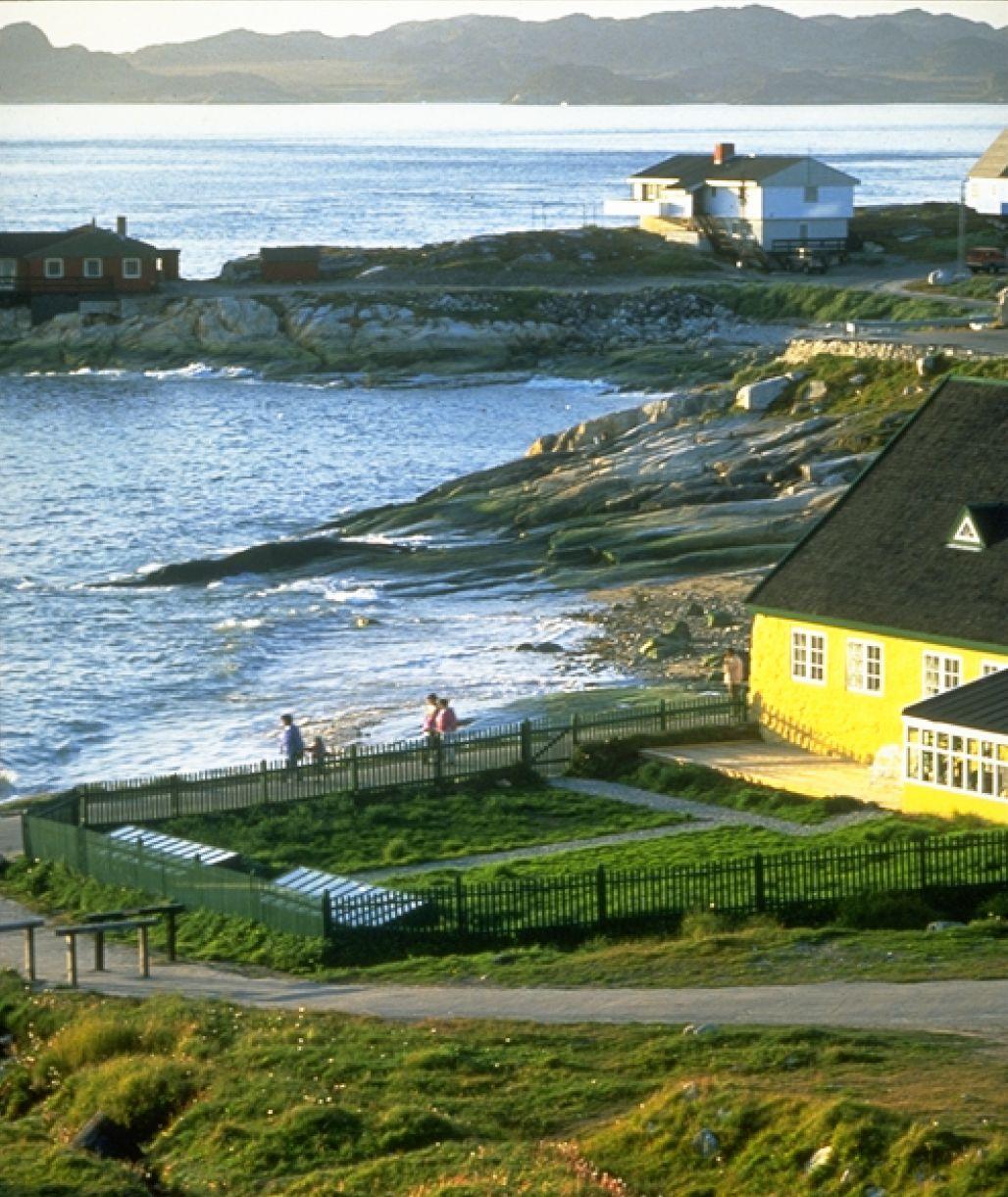 Будинок засновника Нуука Ганса Егеде, побудований в 1728 р. Фото: Greenland Tourism
