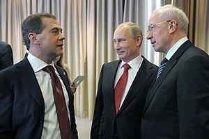 Азаров и Медведев встретятся в Донецке