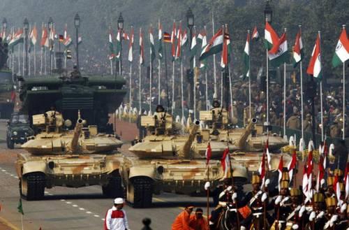 В субботу в столице Индии Нью-Дели прошёл праздничный парад в честь Дня Республики.  Фото: ERIC FEFERBERG/AFP/Getty Images