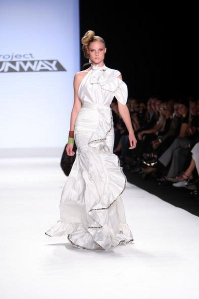 Колекція від Project Runway на Тижні моди Mercedes Benz у Нью-Йорку. Фото: Scott Gries/Getty Images