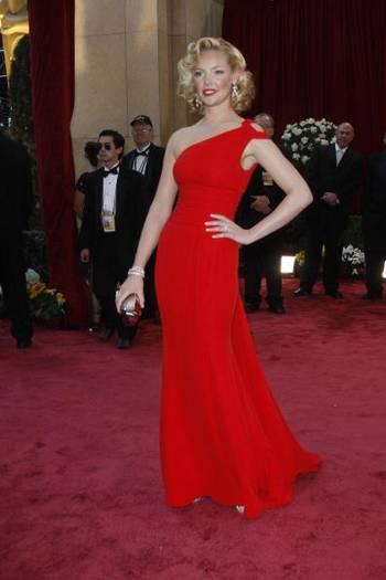 Актриса Кэтрин Хейгл (Katherine Heigl) посетила церемонию вручения Премии 'Оскар' в Голливуде Фото: Valerie Macon/AFP/Getty Images