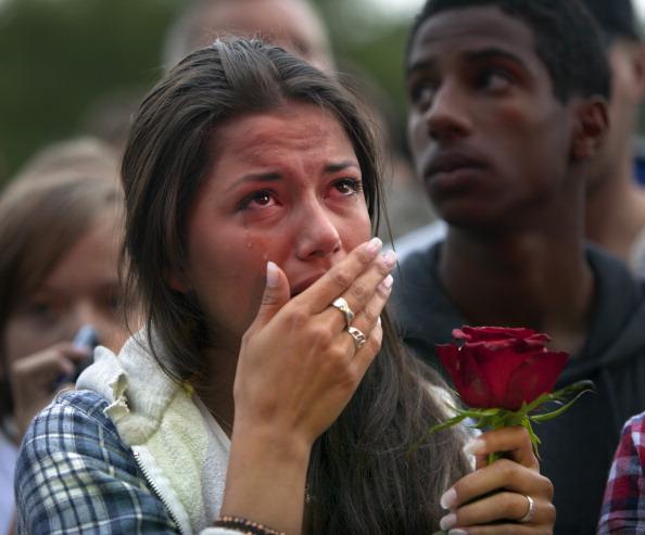 Осло, Норвегія, 25 липня. Тисячі людей у столиці Норвегії та за її межами вшановують пам'ять і сумують про 76 жертв терору 22 липня 2011. Фото: Jonathan Nackstrand / Getty Images