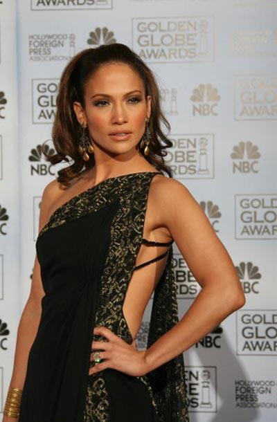 Співачка Дженніфер Лопес (Jennifer Lopez) на церемонії вручення премії 'Золотий глобус' Фото: Bob Long/HFPA via Getty Images