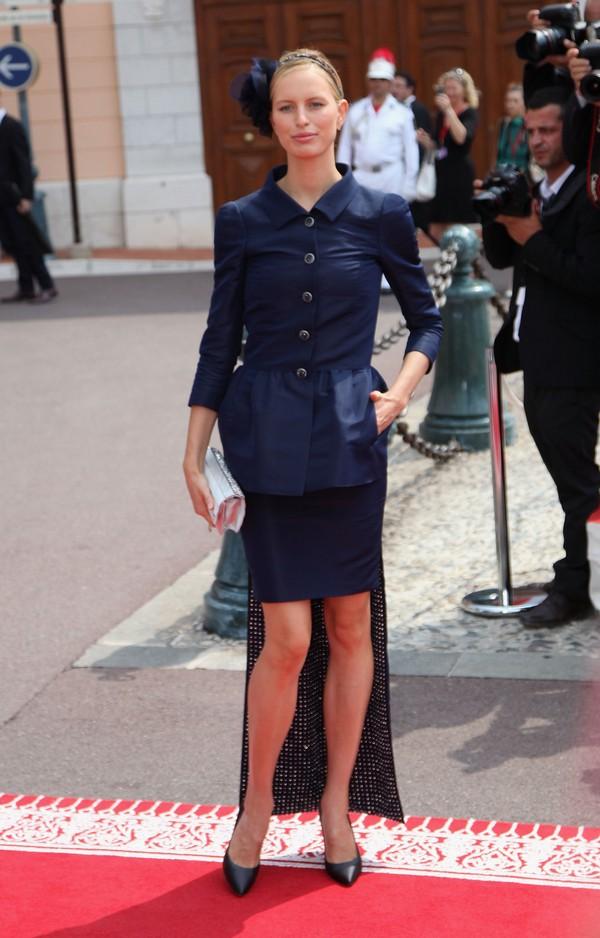 Чешская супермодель Каролина Куркована свадьбе князя Монако ІІ и Шарлин Уиттсток. Фото: Getty Images