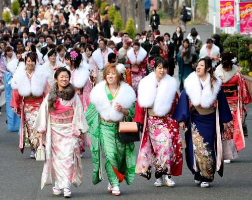 У Японії відзначили день повноліття. Фото: Koichi Kamoshida/Getty Images