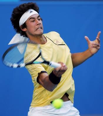 Нік Ліндал (Австралія) (Nick Lindahl of Australia) під час відкритого чемпіонату Австралії з тенісу. Фото: Ezra Shaw/Getty Images