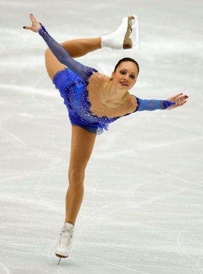 Сара Майер (команда Європи) виконує довільну програму. Фото: Koichi Kamoshida/Getty Images