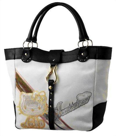 Нова колекція сумок Hello Kitty 2008. Фото з fu.com.cn