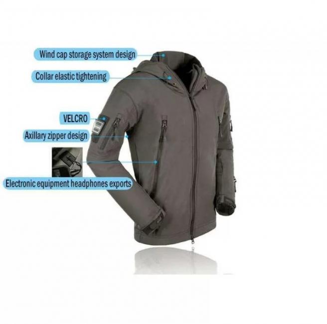курток Softshell