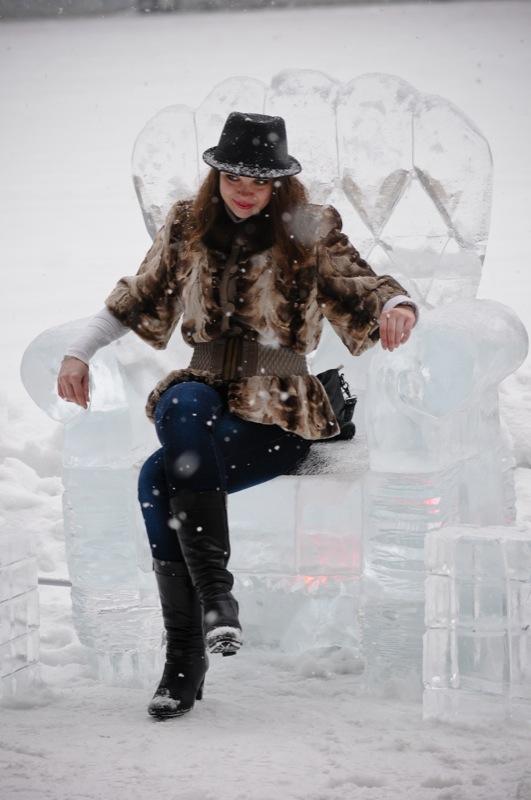 Парк ледяных скульптур открылся в Киеве 13 января 2013 года. Фото: Владимир Бородин / Великая Эпоха