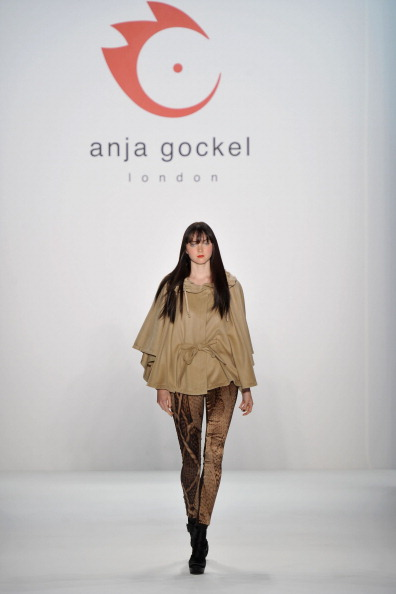 Презентация коллекции от Anja Gockel на Неделе моды Mercedes-Benz в Берлине. Фото Gareth Cattermole/Getty Images