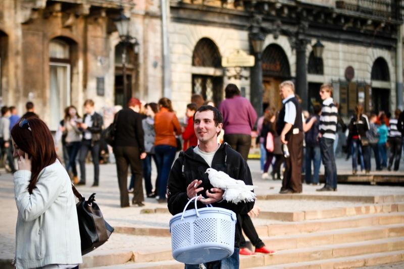 Исторический центр Львова, культурной столицы Украины, привлекает туристов из разных уголков мира. Фото: Великая Эпоха