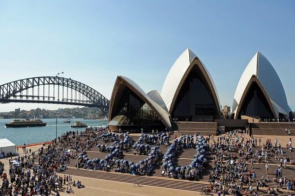 Австралия. Фото: AFP PHOTO / CAROLINE PANKERT